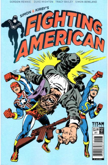 Fighting American #1 Cover C [Titan Comic] THUMBNAIL