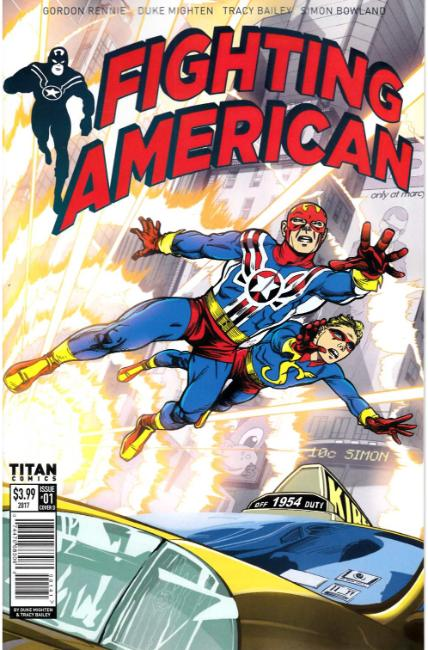 Fighting American #1 Cover D [Titan Comic] THUMBNAIL