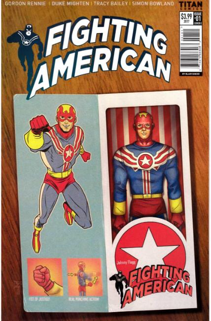 Fighting American #1 Cover E [Titan Comic] THUMBNAIL