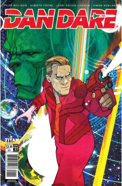 Dan Dare #1 Cover A [Titan Comic] THUMBNAIL