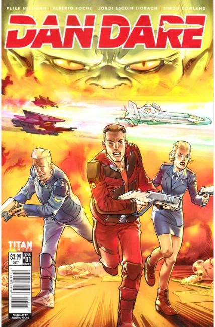 Dan Dare #1 Cover B [Titan Comic] THUMBNAIL