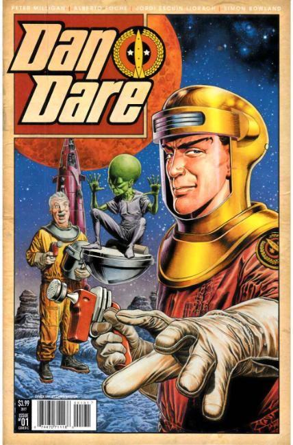 Dan Dare #1 Cover C [Titan Comic] THUMBNAIL