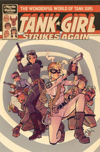 Wonderful World of Tank Girl #1 Cover A [Titan Comic] THUMBNAIL