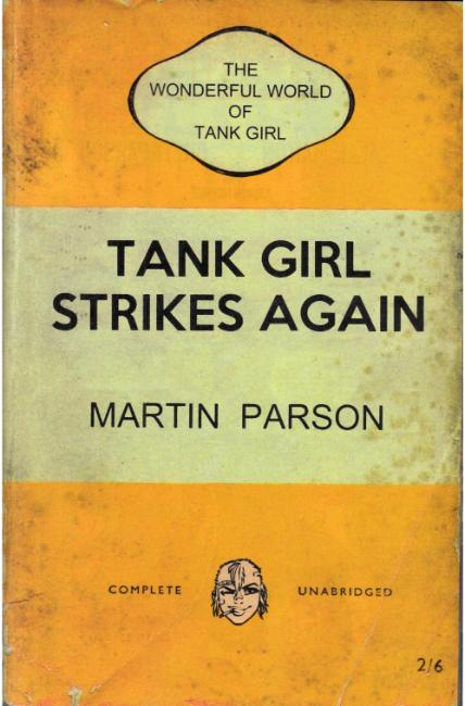 Wonderful World of Tank Girl #1 Cover C [Titan Comic] THUMBNAIL