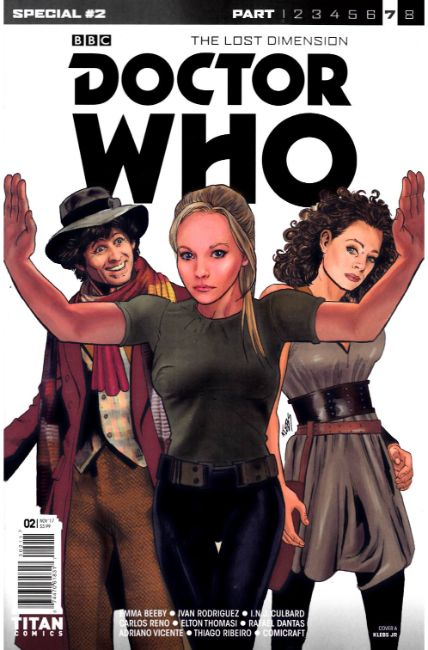 Doctor Who Lost Dimension Special #2 Cover A [Titan Comic] THUMBNAIL