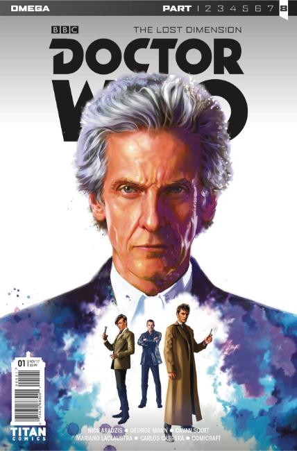 Doctor Who Lost Dimension Omega #1 Cover A [Titan Comic] THUMBNAIL