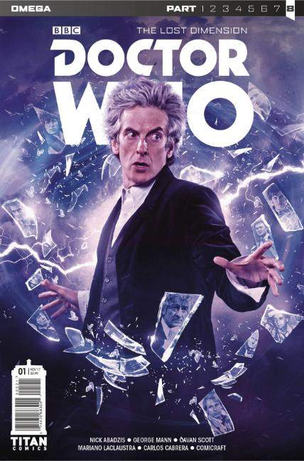Doctor Who Lost Dimension Omega #1 Cover B [Titan Comic]