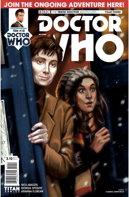 Doctor Who 10th Doctor Year Three #10 Cover A [Titan Comic] THUMBNAIL