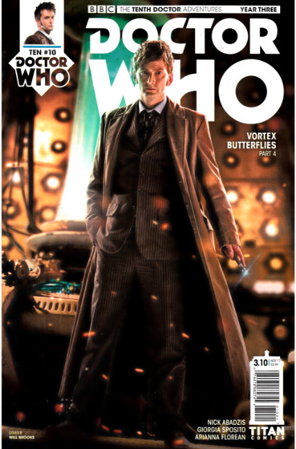 Doctor Who 10th Doctor Year Three #10 Cover B [Titan Comic] THUMBNAIL
