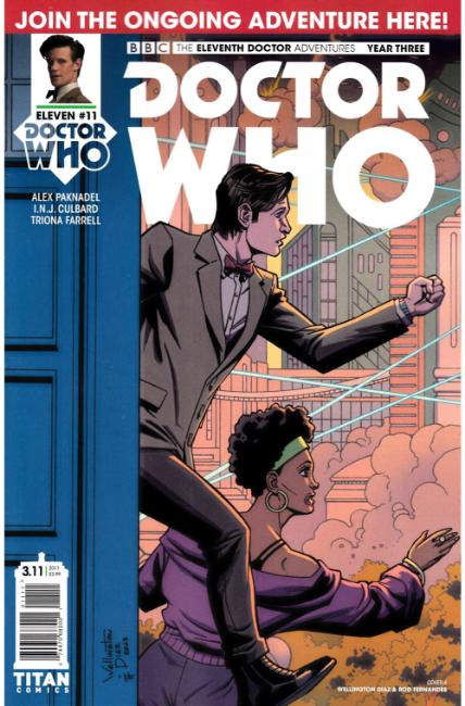 Doctor Who 11th Doctor Year Three #11 Cover A [Titan Comic]