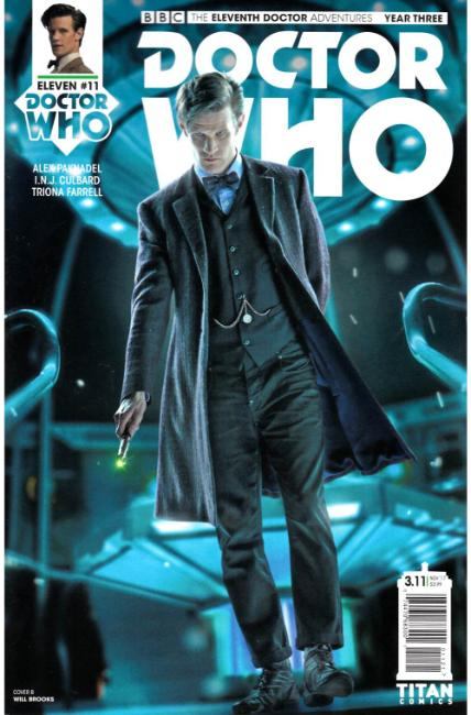 Doctor Who 11th Doctor Year Three #11 Cover B [Titan Comic]
