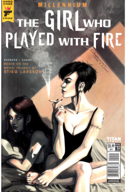 Millennium Girl Who Played With Fire #2 Cover A [Titan Comic]