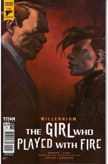 Millennium Girl Who Played With Fire #2 Cover B [Titan Comic] THUMBNAIL