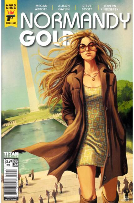 Normandy Gold #5 Cover A [Titan Comic] THUMBNAIL
