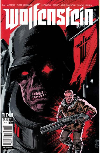 Wolfenstein #2 Cover A [Titan Comic] THUMBNAIL