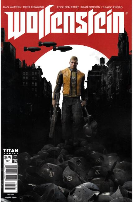 Wolfenstein #2 Cover B [Titan Comic] THUMBNAIL