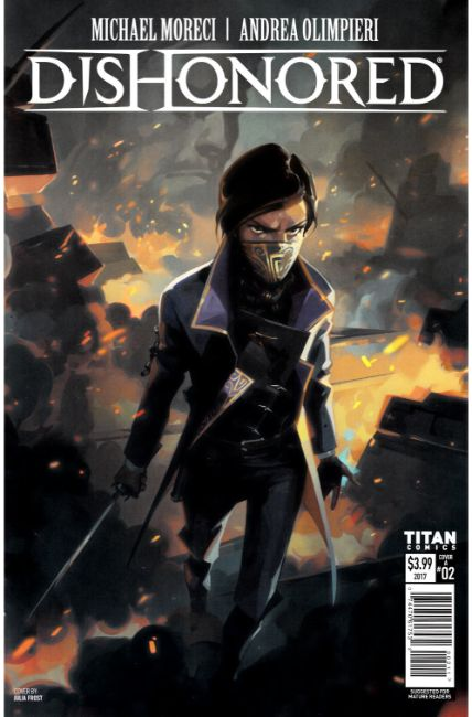 Dishonored Peeress and the Price #2 Cover A [Titan Comic]_LARGE