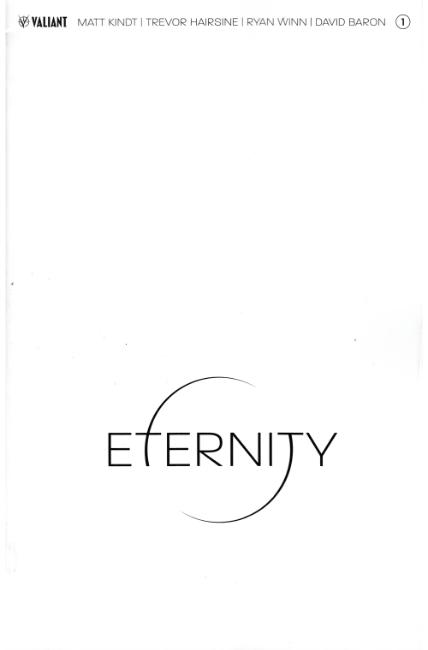 Eternity #1 Cover C- Blank [Valiant Comic] THUMBNAIL