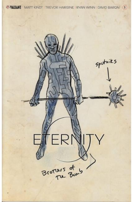 Eternity #1 Cover D- Character Design Kindt Variant [Valiant Comic]_THUMBNAIL