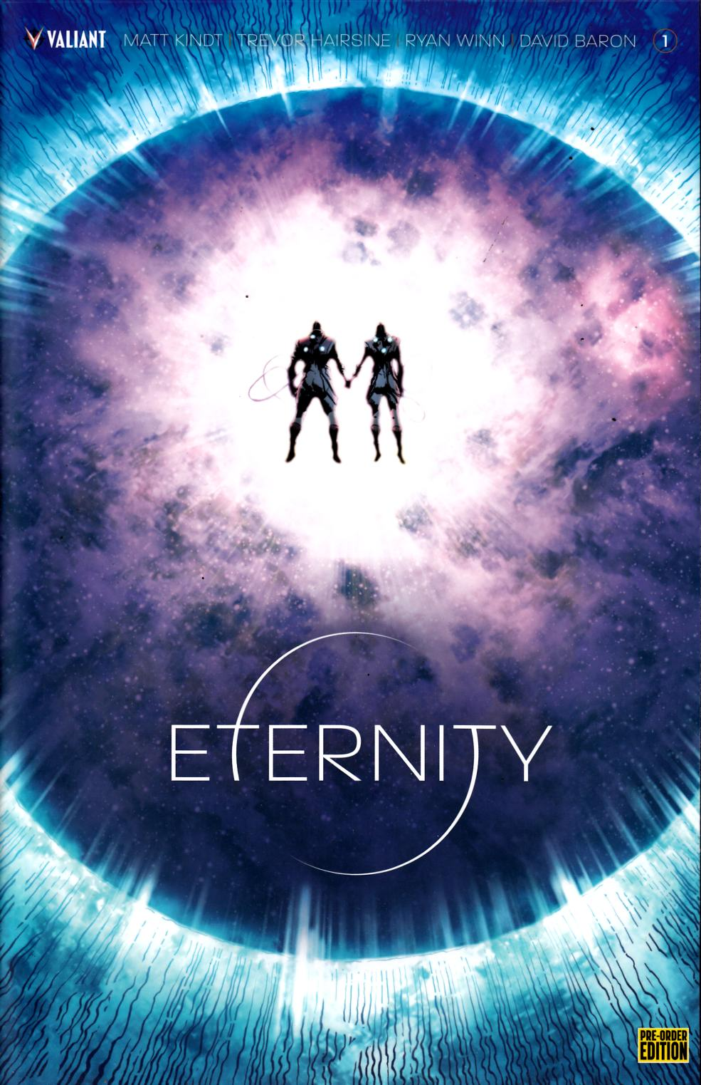 Eternity #1 Preorder Edition Near Mint (9.4) [Valiant Comic] LARGE