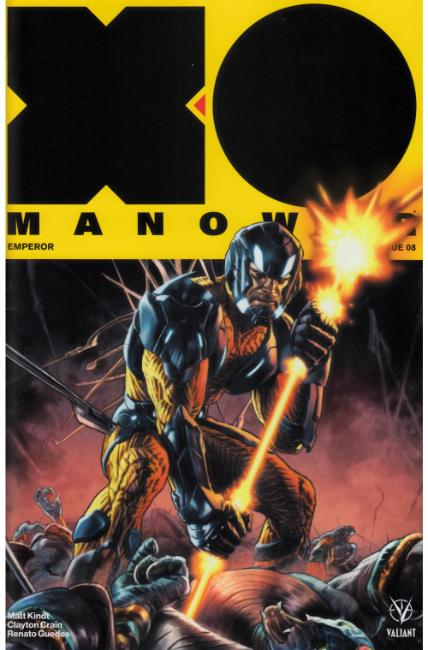 X-O Manowar #8 Cover A [Valiant Comic]