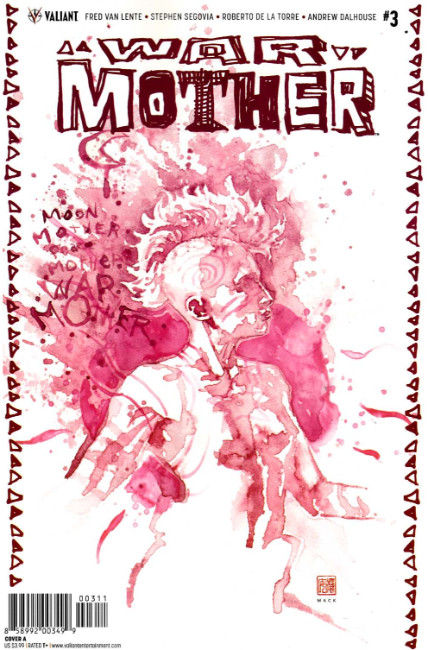War Mother #3 Cover A [Valiant Comic]