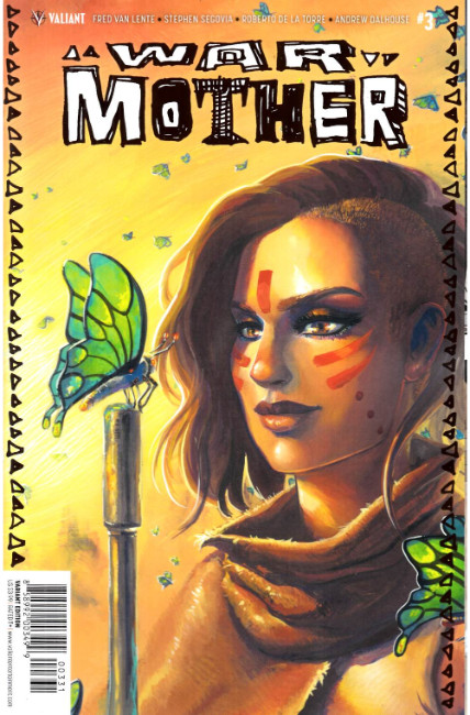 War Mother #3 Cover C- Hetrick Variant [Valiant Comic]