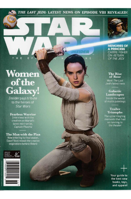 Star Wars Insider #176 Newsstand Edition [Titan Magazine] THUMBNAIL