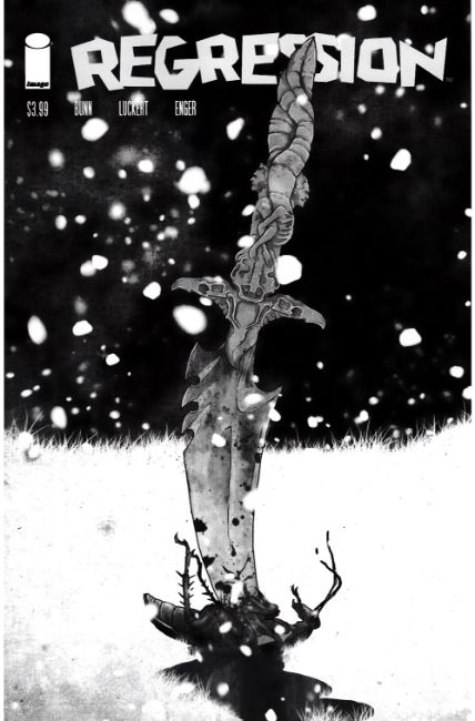 Regression #5 Cover C- Walking Dead #145 B&W Tribute Cover [Image Comic] THUMBNAIL