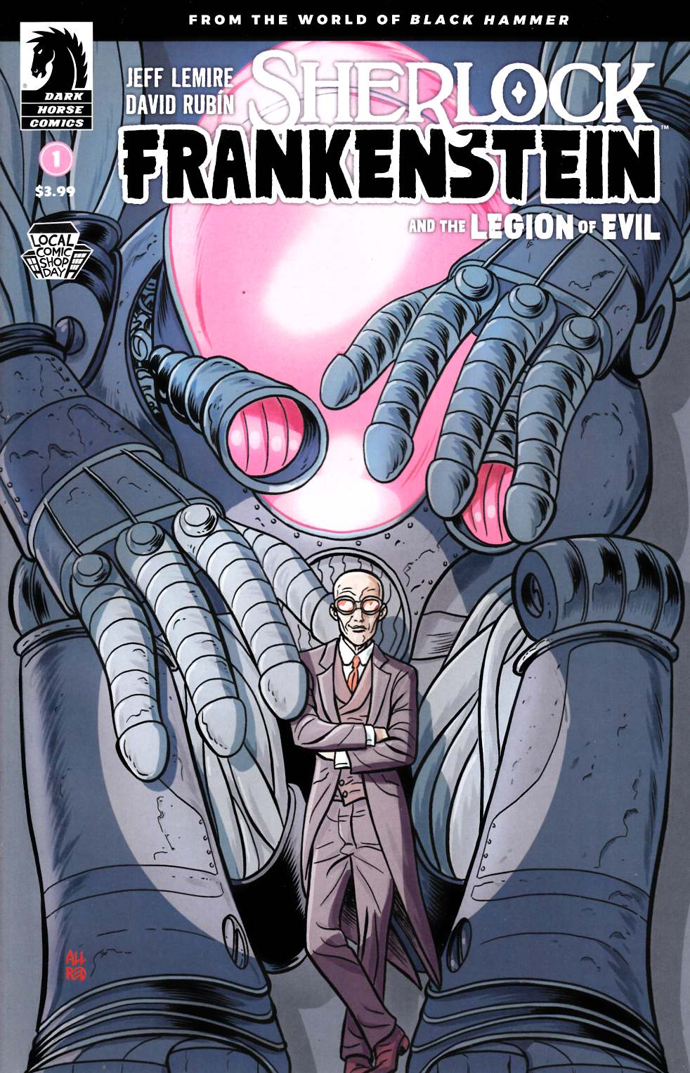 Sherlock Frankenstein & Legion of Evil #1 LCSD 2017 Edition Near Mint (9.4) [Dark Horse Comic] THUMBNAIL