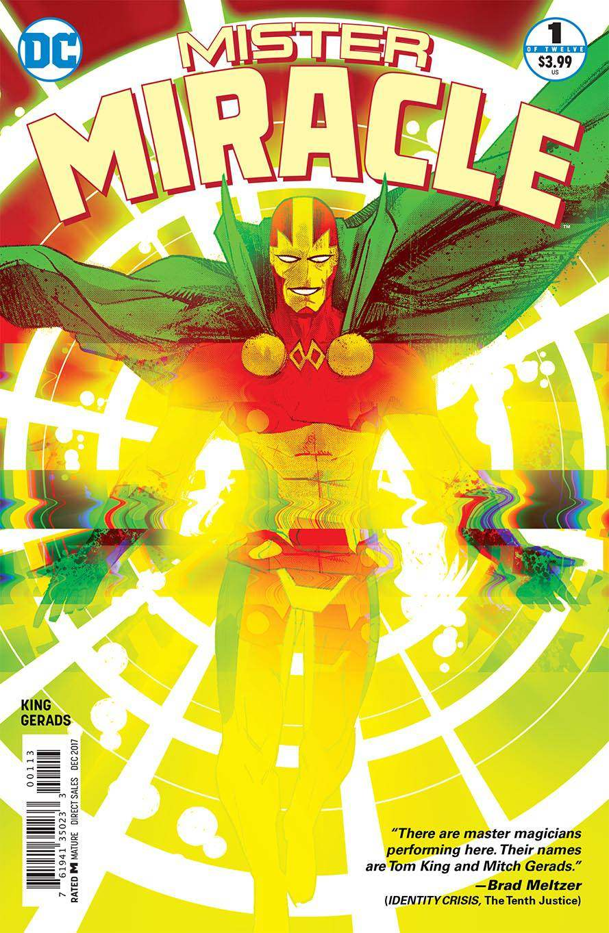 Mister Miracle #1 Third Printing [DC Comic]_THUMBNAIL