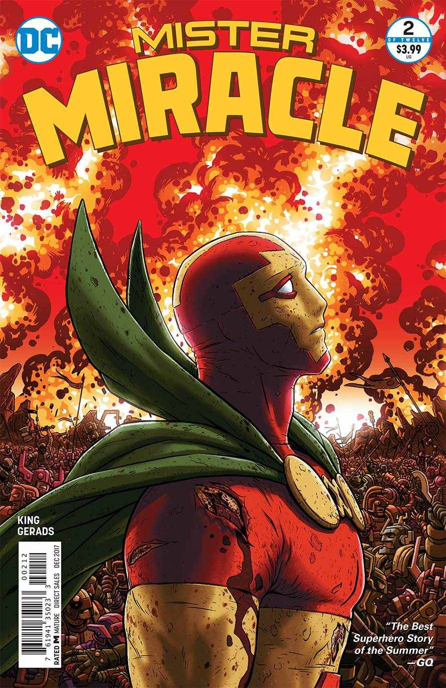 Mister Miracle #2 Second Printing Near Mint (9.4) [DC Comic]_THUMBNAIL