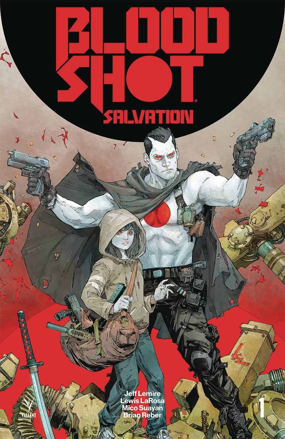 Bloodshot Salvation #1 Second Printing [Valiant Comic]