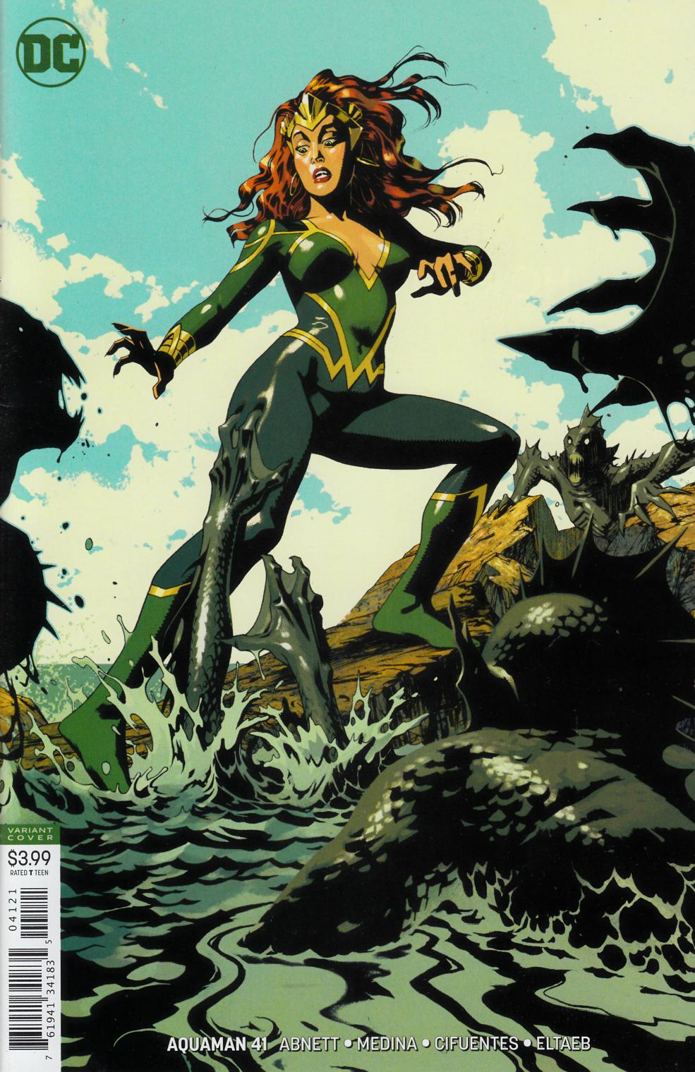 Aquaman #41 Middleton Variant Cover Near Mint Minus (9.2) [DC Comic] THUMBNAIL