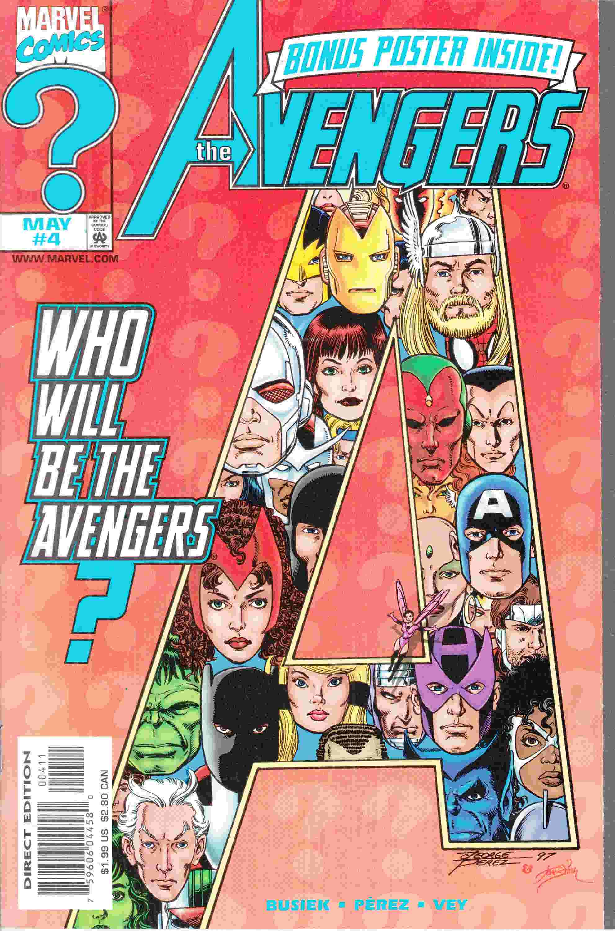 Avengers #4 Near Mint (9.4) [Marvel Comic] LARGE