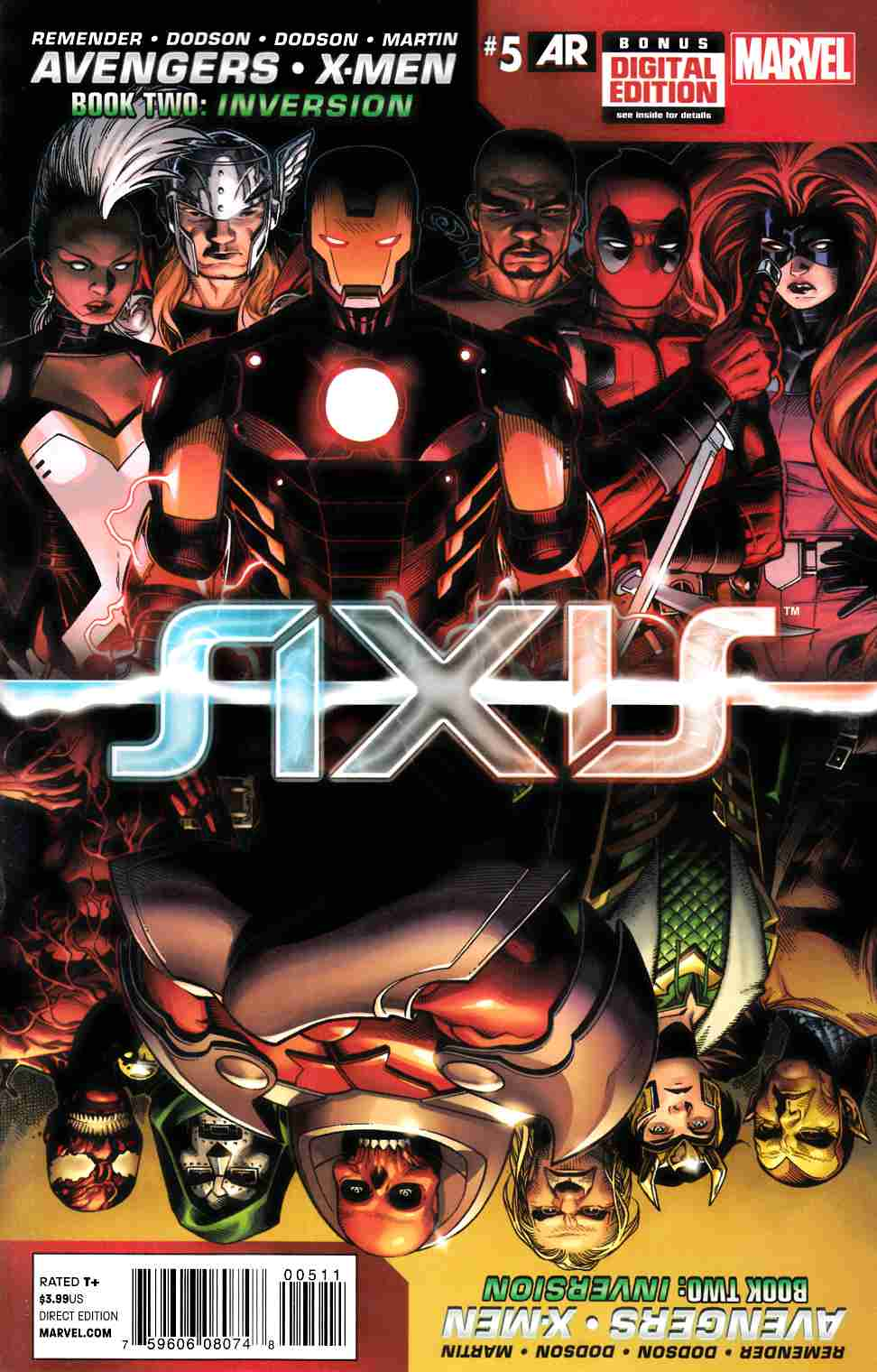 Avengers and X-Men Axis #5 [Marvel Comic] LARGE