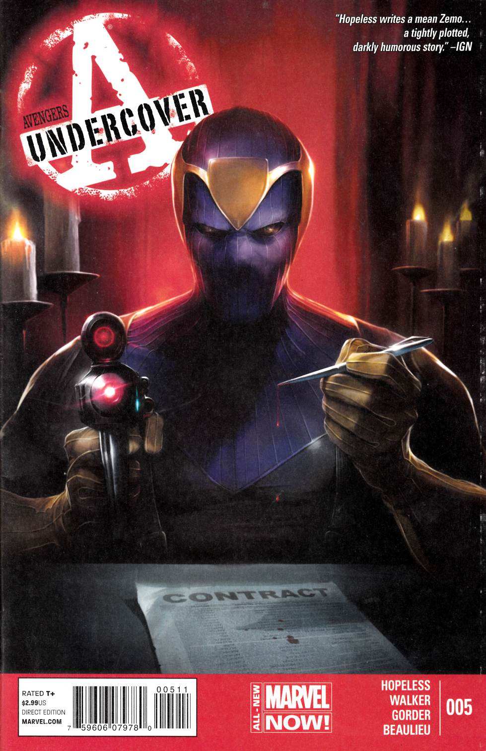 Avengers Undercover #5 [Comic] LARGE