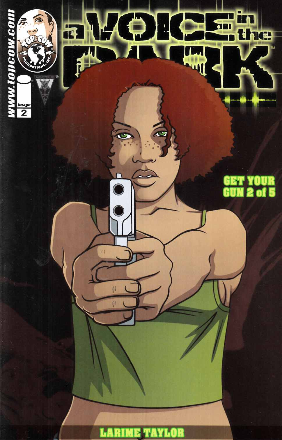 A Voice In The Dark Get Your Gun #2 Cover A- Taylor [Image Comic] THUMBNAIL