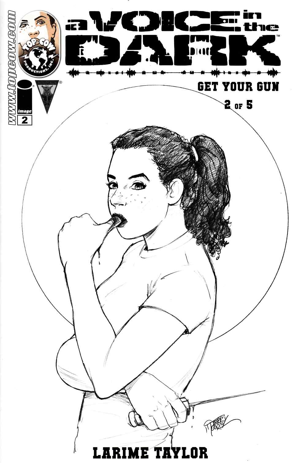 A Voice In The Dark Get Your Gun #2 Cover B- Moore [Image Comic] THUMBNAIL