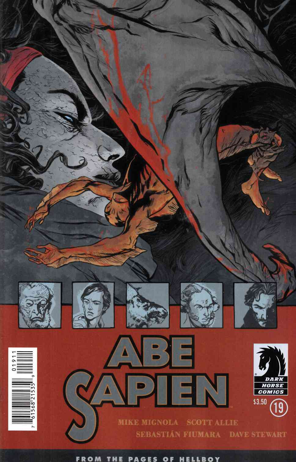 Abe Sapien #19 [Dark Horse Comic] LARGE