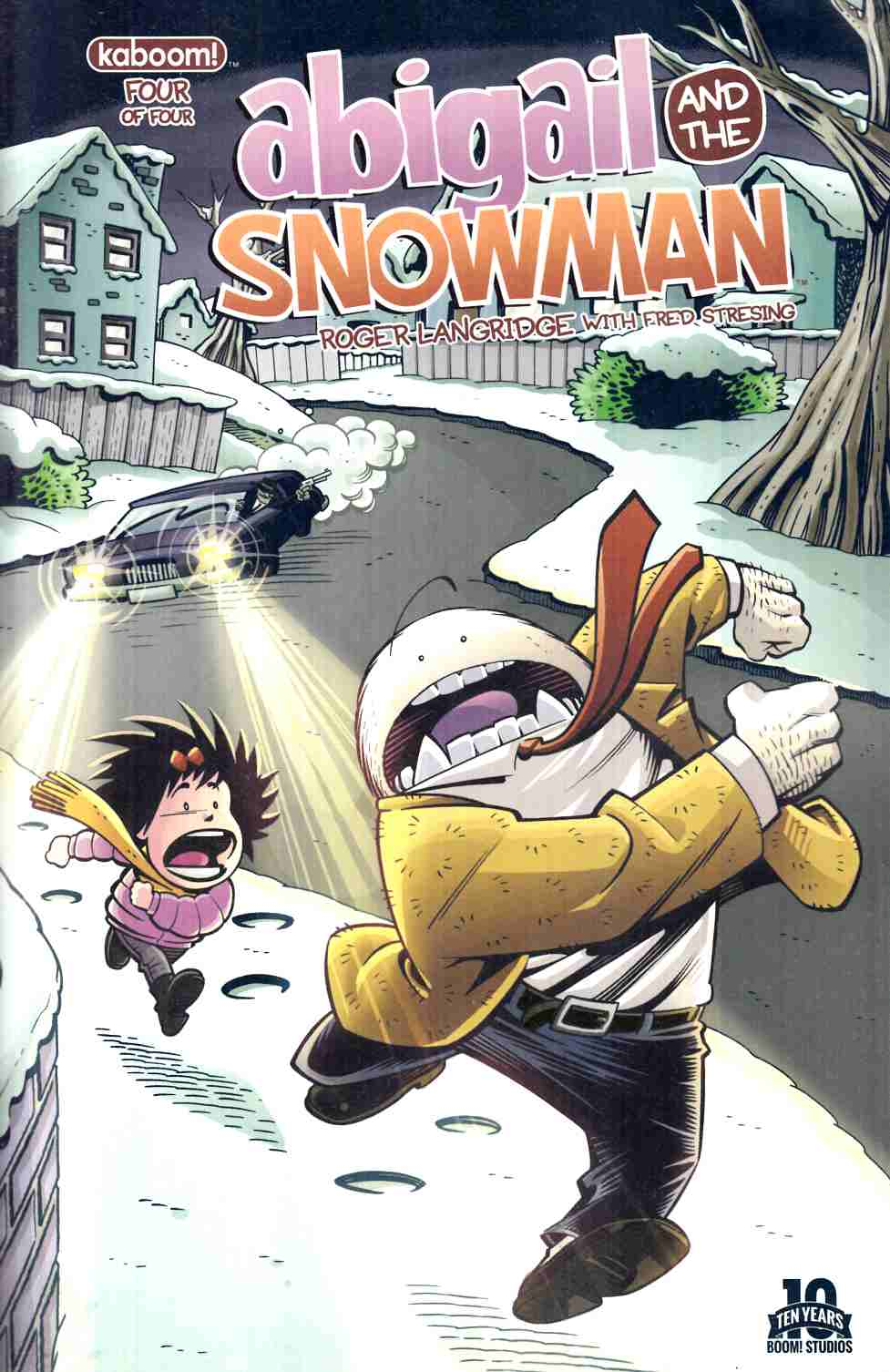 Abigail And the Snowman #4 [Boom Comic] THUMBNAIL
