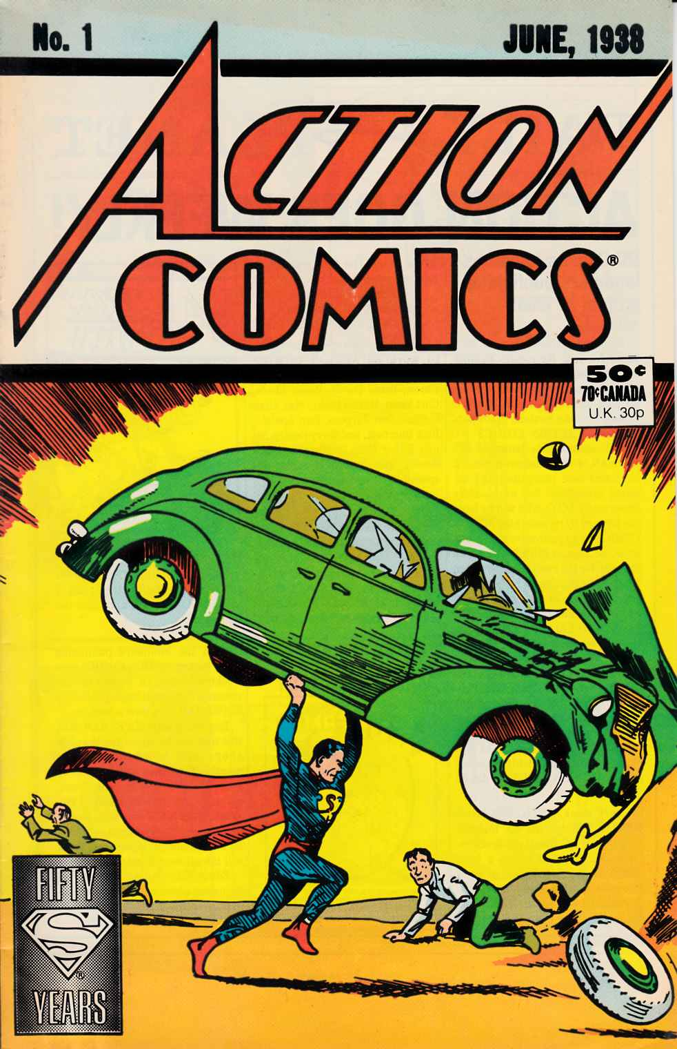 Action Comics #1 1988 Reprint Fine (6.0) [DC Comic] THUMBNAIL