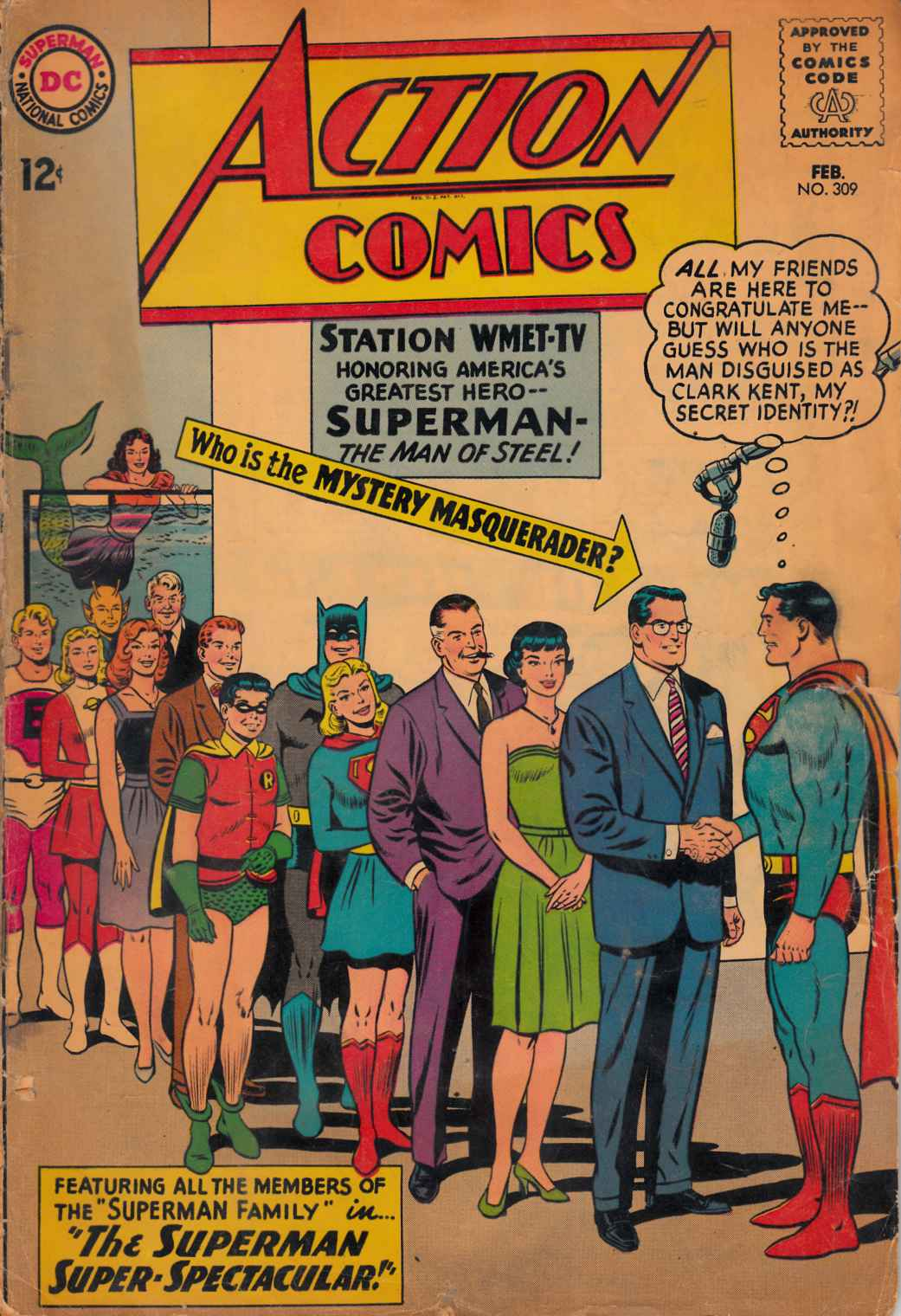 Action Comics #309 Good (2.0) [DC Comic] THUMBNAIL