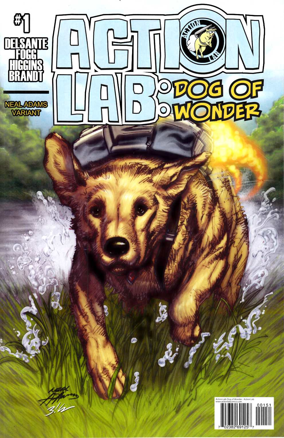 Action Lab Dog of Wonder #1 Cover D- Incentive [Action Lab Comic] THUMBNAIL