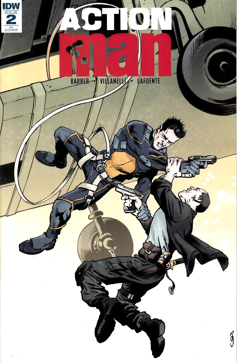 Action Man #2 Cover RI [IDW Comic] THUMBNAIL