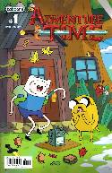 Adventure Time #1 Fourth Printing Connecting Cover [Comic]