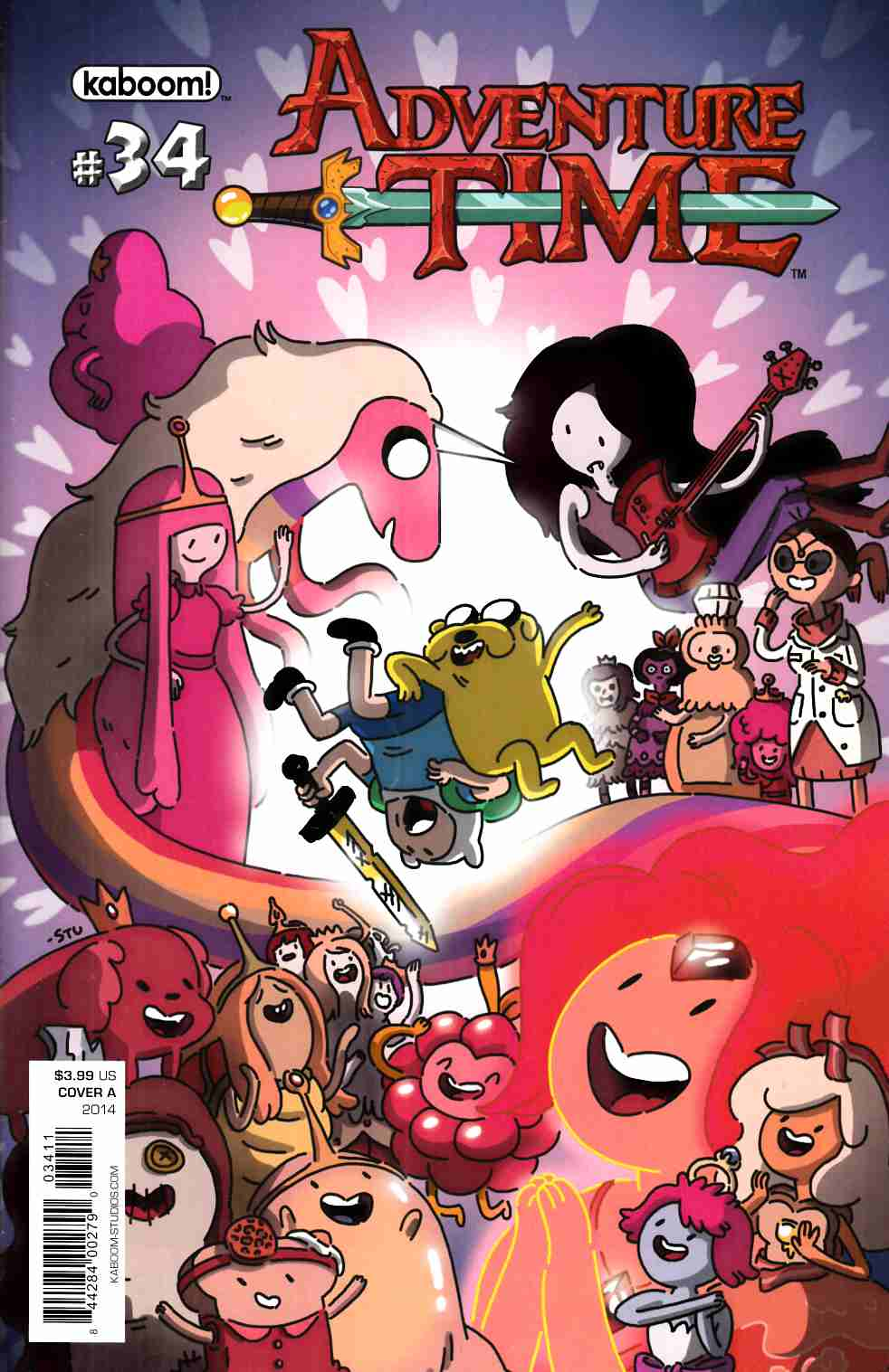 Adventure Time #34 [Boom Comic] LARGE