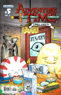 Adventure Time Candy Capers #5 Cover B [Comic] LARGE