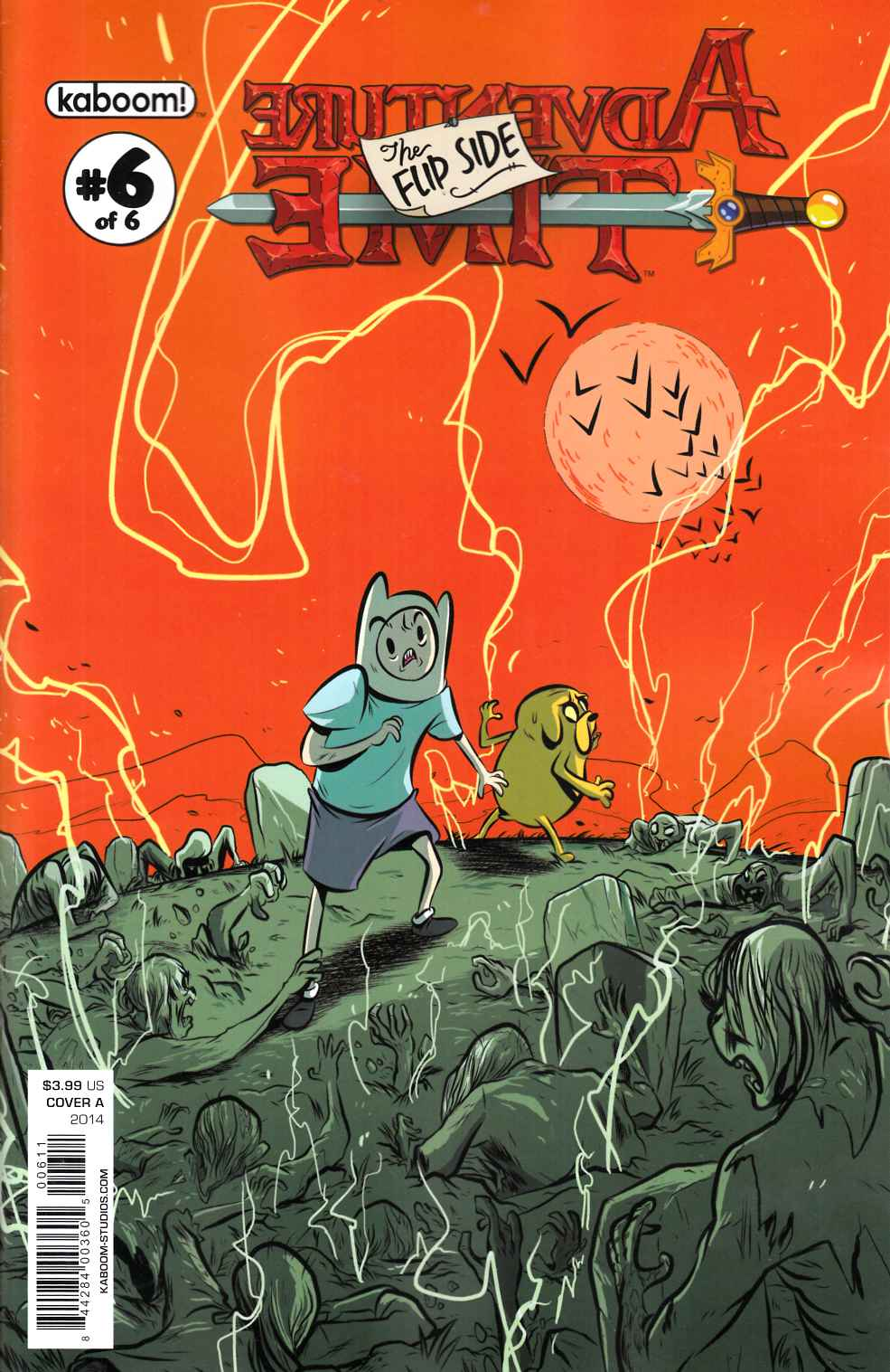 Adventure Time Flip Side #6 Cover A [Comic]