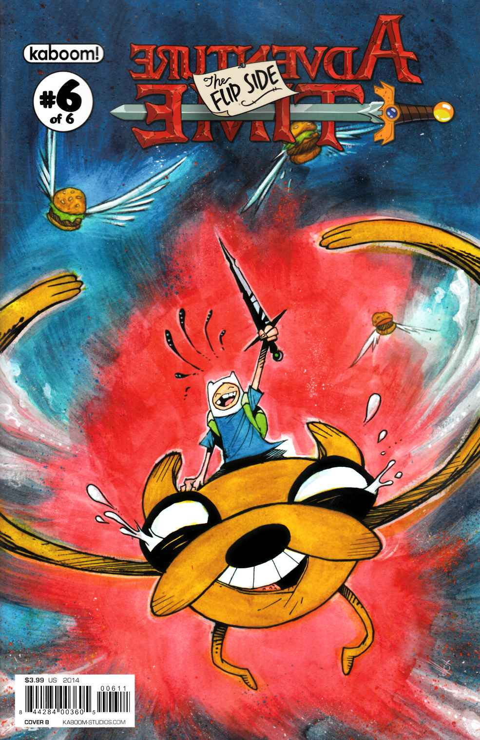 Adventure Time Flip Side #6 Cover B [Comic] THUMBNAIL